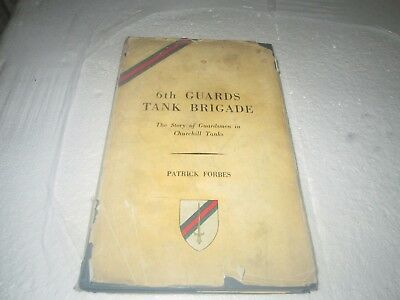 Old Book 6Th Guards Tank Brigade 1944-45