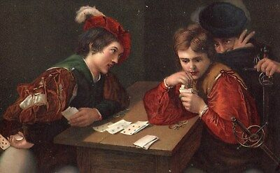 The Cheat -- Card Game.