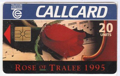 Ireland Phone Card - 1995 Rose of Tralee Festival