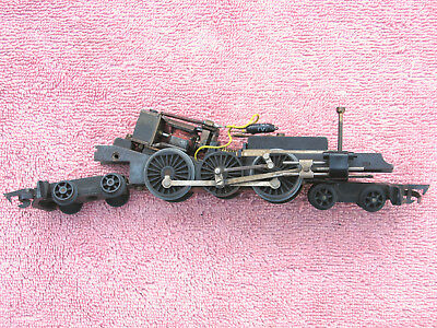 Triang: Rare Motorised Chassis - Class Wab 'baltic' Tank Loco - Worn But Working