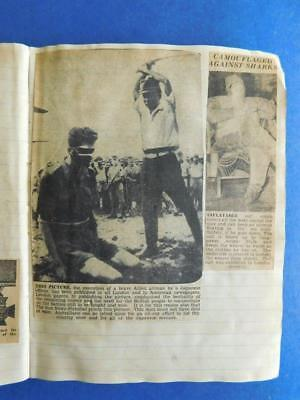 WW2 News clippings Newspaper articles Pacific PNG Australian Japanese Army etc