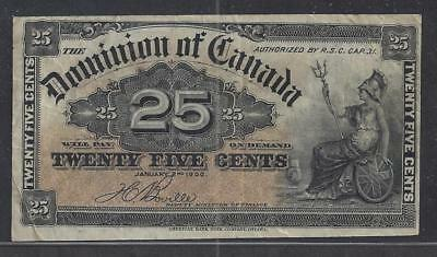 Canada 25 Cents 1900