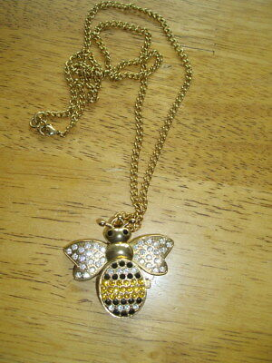 Ladies Bee Pendant Watch / Creature And Co