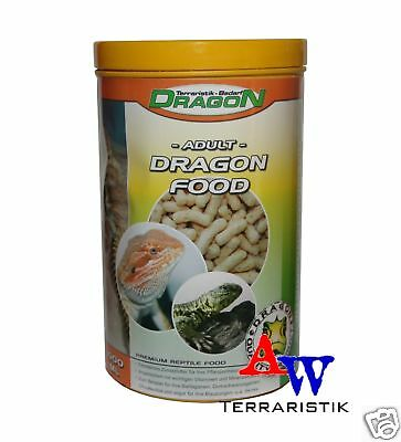 Dragon Food Adult - Trockenfutter für Bartagamen - 100g (ca. 1000ml)
