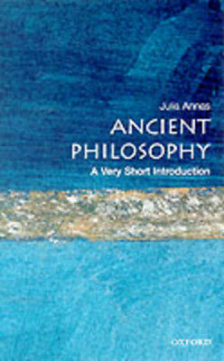 A very short introduction: Ancient philosophy by Julia Annas (Paperback)