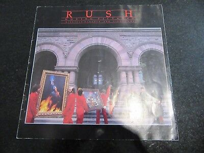 "Rush ""moving Pictures"" 1981 Tour Programme"