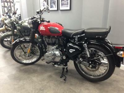 2017 E4 Royal Enfield Bullet Classic 500 EFI Redditch Red
