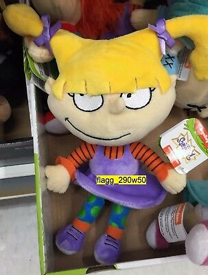 *Nickelodeon Rugrats* 8 INCH ANGELICA BEAN STUFFED PLUSH NICK 90's FIGURE