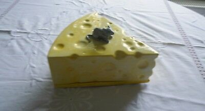 Lovely Yellow Mice Cheese Dish