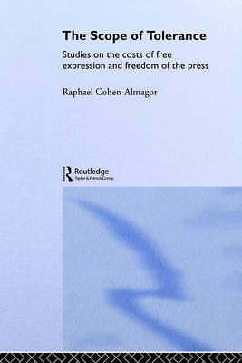 Routledge studies in extremism and democracy: The scope of tolerance: studies