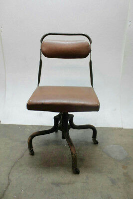 Vintage Artility Metal Products Task/Office Chair (As Is Sale, No Returns)
