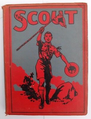 1946 - British Boy Scout Book - The Scout - Official Bound Volume XLI