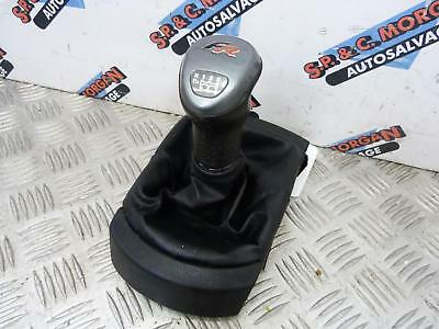 Seat Ibiza Fr 6 Speed Manual Gear Stick Shifter Knob & Gaitor (02-08) Breaking