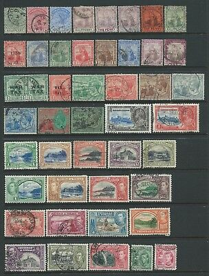 2 scans-Collection of good used Trinidad & Tobago stamps.