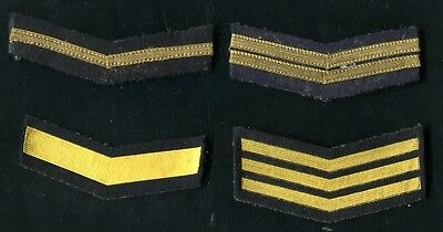1950-80's Russia USSR Military Fleet Rang in Service 4 Patches
