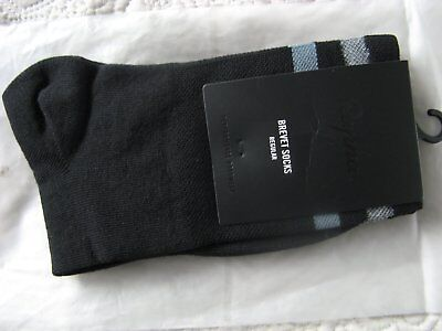 New Rapha Reflective Brevit Socks - Black Size Regular