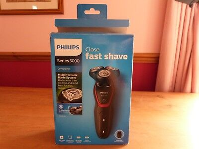 Bnib Philips Series 5000 Close Fast Shave Cordless Dry Shaver
