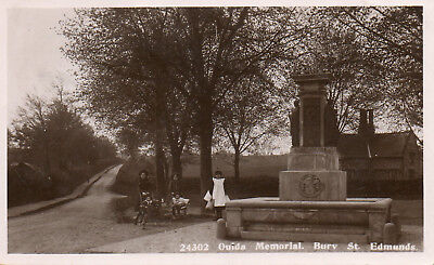 BURY St. EDMUNDS *OUIDA MEMORIAL* NANNIES WITH CHILDREN*LOVELY VINTAGE VIEW*(23)