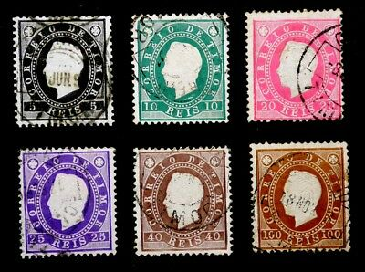 Timor, Portugal: 1887 Classic Era Stamp Collection Used Sound Cv $27.15