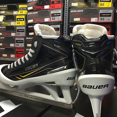 "Bauer NXG Pro Stock Goal Skate ""Justin Peters"" 10D"