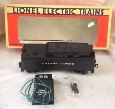 Lionel Lines 6-16673 Train Steam Tender w Air Whistle Button & Box & Paperwork