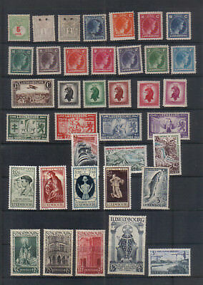 Luxembourg Early mint collection