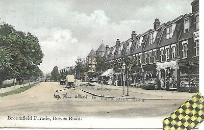 broomfield parade bowes road brownlow road palmers green 1913