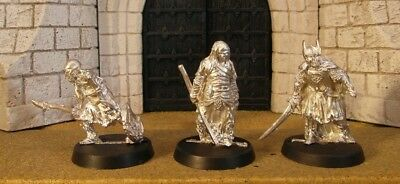 DEAD MARSH SPECTRES - Lord Of The Rings 3 Metal Figure(s)