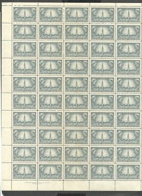 Canada , 1948 , Government  , Full Sheet Unmounted Mint , Mnh ,