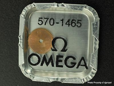 Vintage ORIGINAL OMEGA Auto Ratchet Wheel Part #1465 for Omega Cal.570