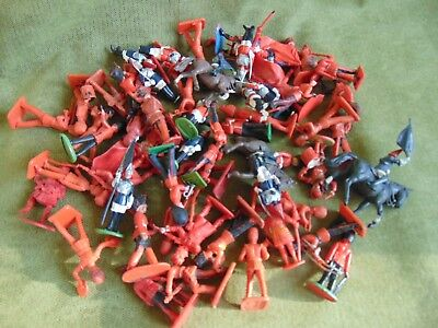 Vintage Timpo Crescent Lonestar Britains Cherilea Guards Toy Soldiers 50++ 1960s