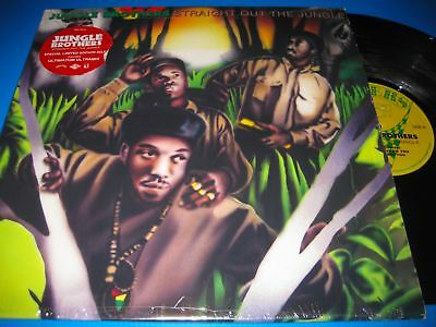 Jungle Brothers.straight Out The Jungle.2X12'' Us Vinyl Lp Nm-