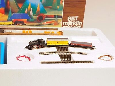 """8907A Marklin Z-scale  """"the Original"""" 1970 starter set, rare to find like this"""