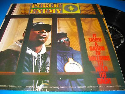 Public Enemy.it Takes A Nation Of Millions To Hold Us Back.12'' Vinyl Lp