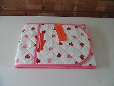 Emma Bridgewater Pink Hearts Double Oven Gloves - New