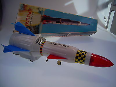 "Gsr Robot Rocket ""apollo-10 Hong Kong, Bo Ok, Like Neu/new/neuf In Very Box !"