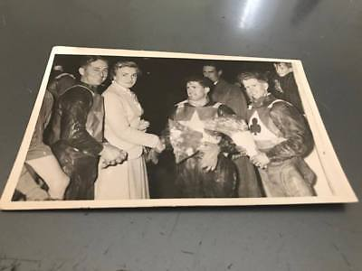 Peter Craven,billy Bales,aub Lawson--1960's--5X3--Speedway--Portrait Photo