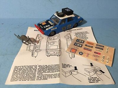 Corgi Toy 302 Hillman Hunter Australian Rally Car & Copy Paperwork Stickers