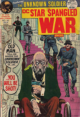STAR SPANGLED WAR STORIES lot of (6) #163-#174 (1972>) DC Comics Unknown Soldier