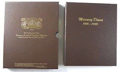 1916-1945 Dansco Mercury Dimes Album #7123 - NO RESERVE 76 Coins Collection