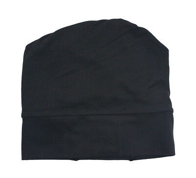 Lululemon Black Athletic Running Convertible Top Knit Toque Headband Hat New