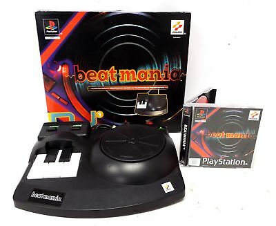 BEATMANIA Sony PlayStation 1 PS1 DJ Game & TURNTABLE Boxed PAL DJ Pack 1 - C56
