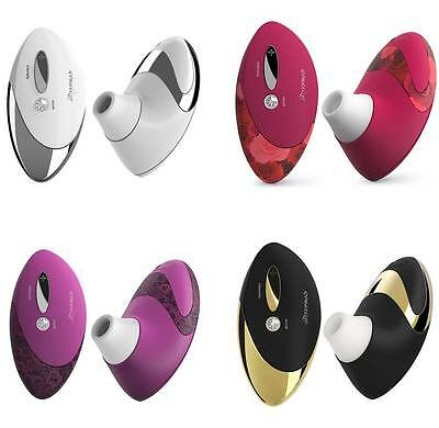 WOMANIZER DELUXE W500 magenta lace chrome red roses gold rush black