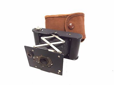 Vintage KODAK Vest Pocket Folding Bellows Camera in Case  - D29