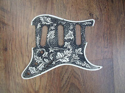 stratocaster scratchplate pickguard custom made engraved