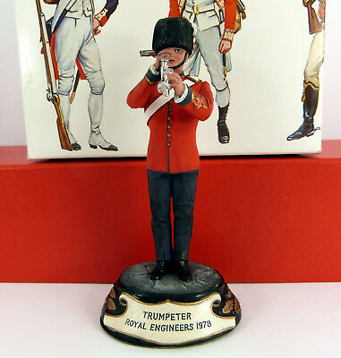 CHAS C STADDEN 90mm STUDIO PAINTED 1978 ROYAL ENGINEERS TRUMPETER ( BOXED