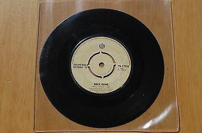 "Back Home England World Cup Squad 1970 Vinyl 7"" Single"