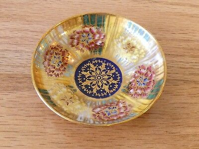 Aynsley Fairyland Lustre Small Shallow Bowl / Dish