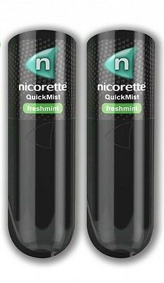 Nicorette Duo Quickmist Spray Relief of Cravings and Nicotine Withdrawal 13.2ml
