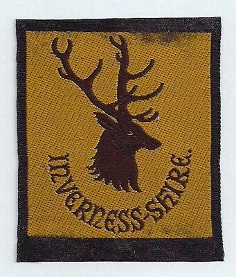 Old Scottish Boy Scout Badge - Inverness-shire County